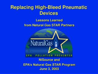 Replacing High-Bleed Pneumatic  Devices