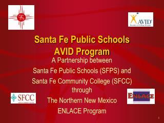 Santa Fe Public Schools AVID Program