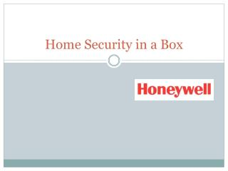 Home Security in a Box