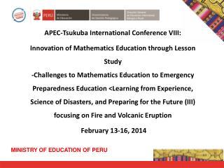 APEC-Tsukuba International Conference VIII: