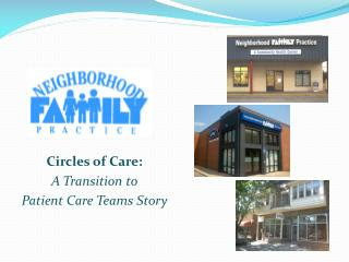 Circles of Care: A Transition to  Patient Care Teams Story