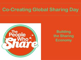 Co-Creating Global Sharing Day
