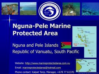Nguna-Pele Marine Protected Area