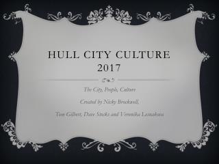 Hull City Culture 2017