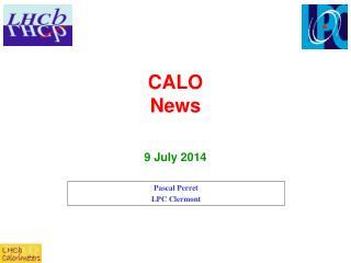 CALO  News