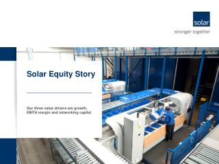 Solar Equity Story