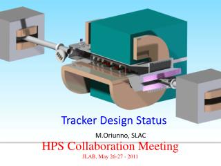 HPS Collaboration Meeting JLAB, May 26-27 - 2011