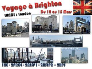 Voyage à Brighton