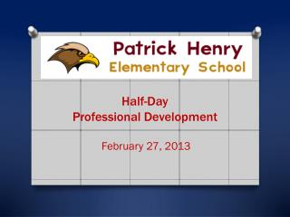 Half-Day Professional Development