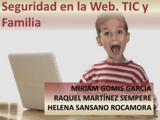 MIRIAM GOMIS GARCÍA RAQUEL  MARTíNEZ  SEMPERE HELENA SANSANO ROCAMORA