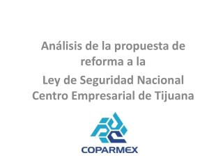 Análisis de la propuesta de reforma a la