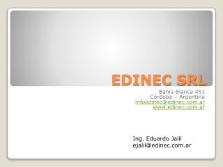 EDINEC SRL