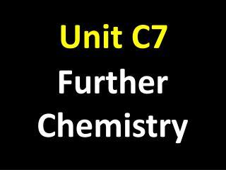 Unit C7