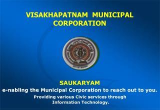 VISAKHAPATNAM  MUNICIPAL CORPORATION