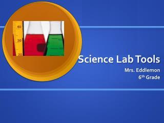 Science Lab Tools