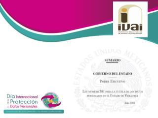 PRIMERO.  ASPECTOS  GENERALES DE LA LEY:
