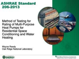ASHRAE Standard  206-2013