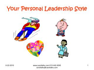 Your Personal Leadership Style