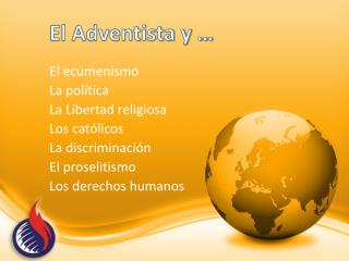 El Adventista y …