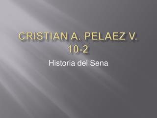 Cristian a.  pelaez  v. 10-2