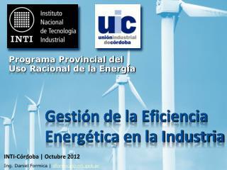 Gestión de la Eficiencia Energética en la Industria