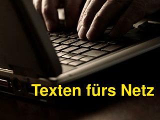 Texten fürs Netz