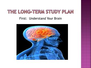 The Long-term Study Plan