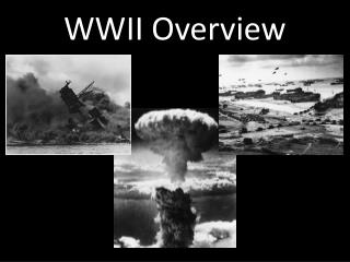 WWII Overview