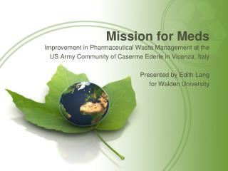 Mission for Meds