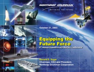 Copyright 2003 Northrop Grumman Corporation