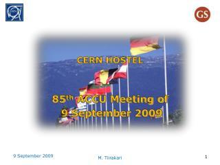 CERN HOSTEL