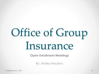 Office of Group Insurance