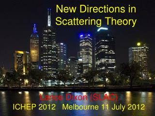 New Directions in  Scattering Theory