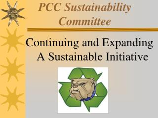 PCC Sustainability Committee