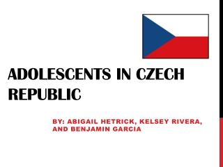 Adolescents in Czech Republic