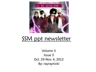SSM  ppt  newsletter