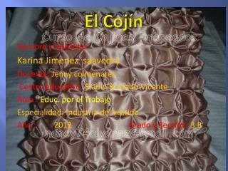 El Cojín