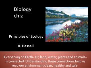 Biology  ch  2