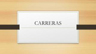 CARRERAS
