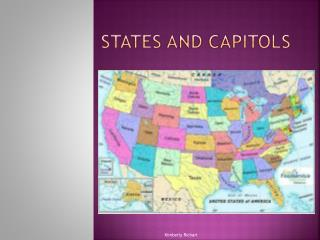 States and Capitols