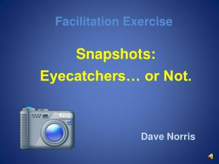 Facilitation Exercise