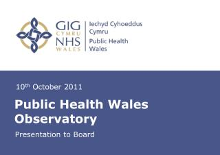 Public Health Wales Observatory