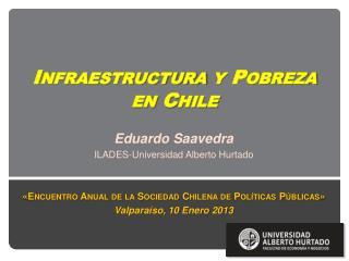 Infraestructura y Pobreza en Chile