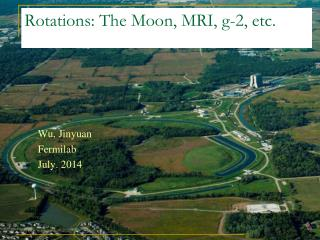 Rotations: The Moon, MRI, g-2, etc.