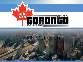 ARIN Outreach