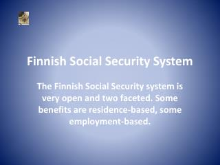 Finnish Social Security System