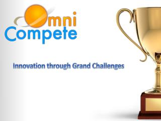 Innovation through Grand Challenges