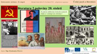 51.1 Česká literatura 2.poloviny 20. století