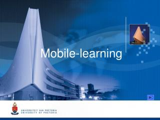 Mobile -learning