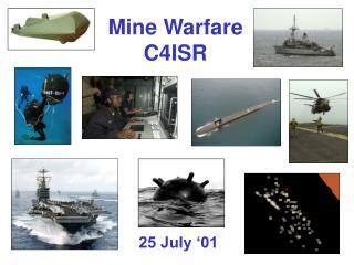 Mine Warfare C4ISR